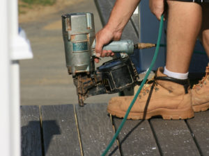 Installing Composite Decking with NailScrews